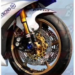 Lèche roue avant fibre Plastic Bike pour Yamaha YZF-R6 (2008-2016)