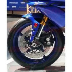 Lèche roue avant fibre Plastic Bike pour Yamaha YZF-R6 (2017-2018) / YZF-R1 (2015-2018)