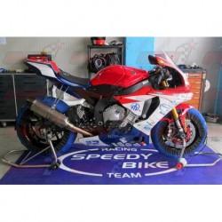 Coque arrière racing fibre Plastic Bike pour Yamaha YZF-R1 (2009-2014)