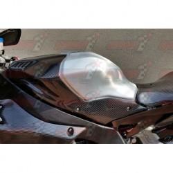 Panneaux de boite à air carbone Plastic Bike pour Yamaha YZF-R1 / YZF-R1M (2015-2018)