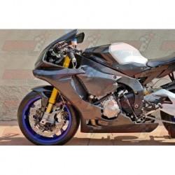 Carénage racing carbone Plastic Bike pour Yamaha YZF-R1 / YZF-R1M (2015-2018)