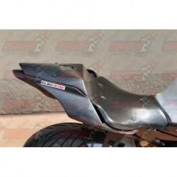 Coque arrière racing carbone Plastic Bike pour Yamaha YZF-R1 / YZF-R1M (2015-2018)
