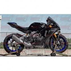 Coque arrière racing carbone Plastic Bike pour Yamaha YZF 125R (2014-2018)