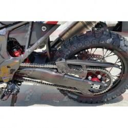 Protections de chaîne carbone Plastic Bike pour Honda CRF1000L Africa Twin (2015)