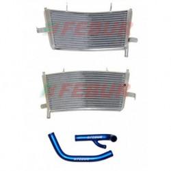 Radiateur additionel eau racing Febur pour Aprilia RSV 1000 (2009-2019)