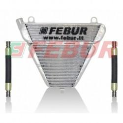Radiateur eau/huile racing Febur pour Ducati Panigale 899/1199/1299 (2012-2018)
