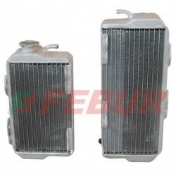 Paire de radiateurs eau racing Febur pour Honda CRF 450 R (2002-2004)