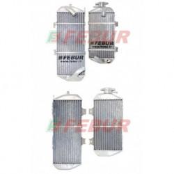Paire de radiateurs eau racing Febur pour Honda CRF 450 R (2013-2014)