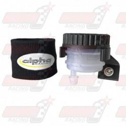 Kit support + réservoir de frein + chausette de réservoir Alpha Racing