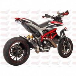 Silencieux MGP Exhaust finition Carbone pour Ducati Hypermotard 821 (2013-2015) et 939 (2016-2018)