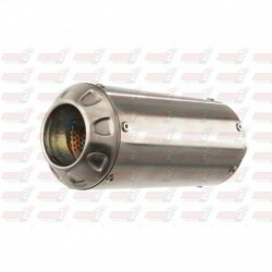 Silencieux MGP Exhaust finition Inox pour Honda CBR250R (2011-2014)