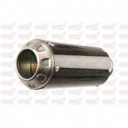Silencieux MGP Exhaust finition Carbone/Inox pour Honda CBR250R (2011-2014)