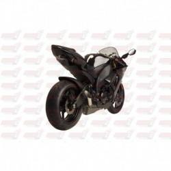 Silencieux HotBodies Racing Megaphone pour Kawasaki ZX10R (2008-2010) et ZX6R (2009-2018)