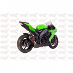 Silencieux MGP Exhaust finition Carbone pour Kawasaki ZX10R (2008-2010)