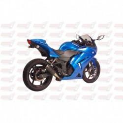 Silencieux MGP Exhaust finition Carbone pour Kawasaki Ninja 250R (2008-2012)