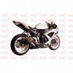 Silencieux MGP Exhaust finition Carbone pour Suzuki GSX-R600/750 (2008-2010)