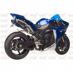 Silencieux MGP Exhaust finition Carbone pour Yamaha YZF-R1 (2009-2014)