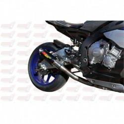Intermédiaire décata MGP Exhaust pour Yamaha YZF-R1/M (2015-2017) et FZ/MT-10 (2016-2018)