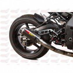 Silencieux MGP Exhaust finition Carbone/Inox pour Yamaha YZF-R1/M (2015-2017) et FZ/MT-10 (2016-2018)