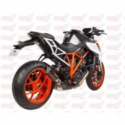 Silencieux MGP Exhaust finition Carbone pour KTM Superduke 1290R (2014-2018)