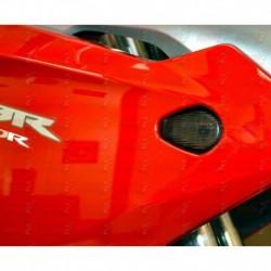 Paire de clignotants led HotBodies Racing couleur fumée pour Honda CBR250R (2011-2014)