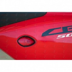 Paire de clignotants led HotBodies Racing couleur rouge pour Honda CBR500R (2013-2015)