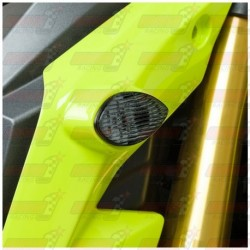 Paire de clignotants led HotBodies Racing couleur fumée pour Honda MSX125 Grom (2013-2015 et  2017)
