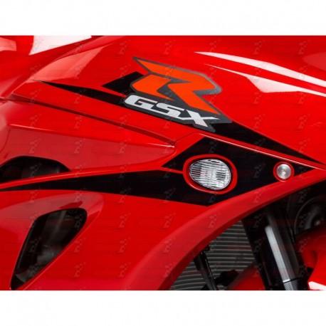 Paire de clignotants led HotBodies Racing couleur transparente pour Suzuki GSX-R1000 (2017)