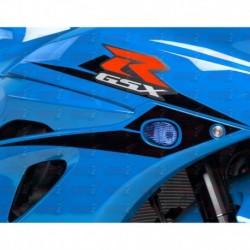 Paire de clignotants led HotBodies Racing couleur bleu pour Suzuki GSX-R1000 (2017)