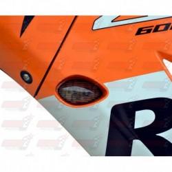 Paire de clignotants led HotBodies Racing couleur fumée pour Honda CBR600RR/CBR1000RR