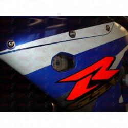 Paire de clignotants led HotBodies Racing couleur fumée pour Suzuki GSXR 600/750/1000 (2000-2003) (Non SRAD)