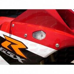 Paire de clignotants led HotBodies Racing couleur transparente pour Suzuki GSXR600/750 (2004-2005) et GSXR1000 (2003-2004)