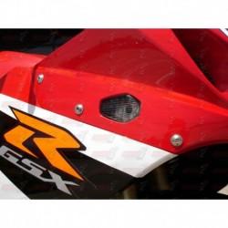 Paire de clignotants led HotBodies Racing couleur fumée pour Suzuki GSXR600/750 (2004-2005) et GSXR1000 (2003-2004)