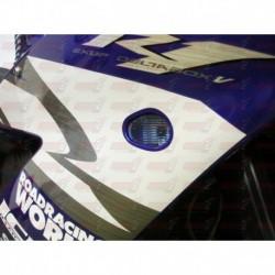 Paire de clignotants led HotBodies Racing couleur bleue pour Yamaha YZF-R1 (2002-2014)  et YZF-R6/s (2003-2016)