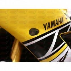 Paire de clignotants led HotBodies Racing couleur fumée pour Yamaha YZF-R1 (2002-2014)  et YZF-R6/s (2003-2016)