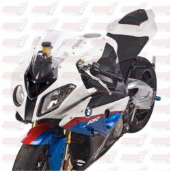 Bulle double courbures HotBodies Racing transparente pour BMW S1000RR (2010-2014)