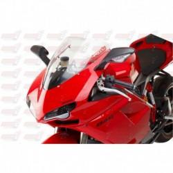 Bulle HotBodies Racing transparente pour Ducati 848/1098/1198 (2007-2010)