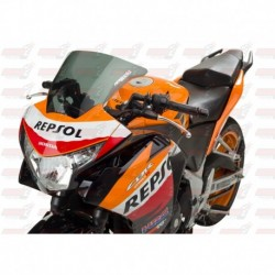 Bulle HotBodies Racing fumée pour Honda CBR250R (2011-2014)