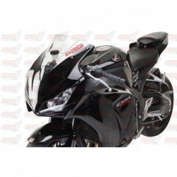Bulle double courbures HotBodies Racing transparente pour Honda CBR1000RR (2012-2016)