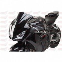 Bulle double courbures HotBodies Racing noire opaque pour Honda CBR1000RR (2012-2016)