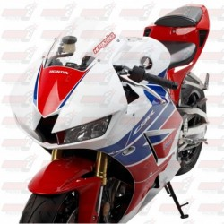 Bulle double courbures HotBodies Racing transparente pour Honda CBR600RR (2013-2018)
