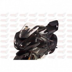 Bulle double courbures HotBodies Racing transparente pour Kawasaki ZX10R (2008-2010) et ZX6R (2009-2018)