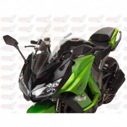 Bulle haute Touring HotBodies Racing transparente pour Kawasaki Ninja 1000 Venom (2011-2016)
