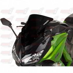 Bulle HotBodies Racing noire brillante pour Kawasaki Ninja 1000 (2011-2016)