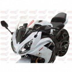 Bulle HotBodies Racing transparente pour Kawasaki Ninja 650 Venom (2012-2016)