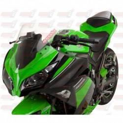 Bulle HotBodies Racing transparente pour Kawasaki Ninja 300 (2013-2017)