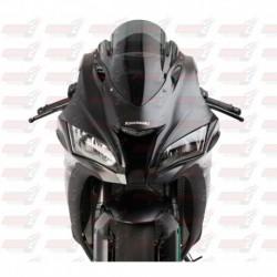 Bulle double courbures HotBodies Racing fumée pour Kawasaki ZX10R (2016-2018)