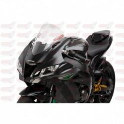 Bulle haute HotBodies Racing transparente pour Kawasaki ZX10R (2016-2018)