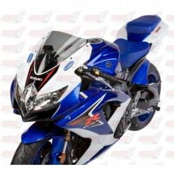 Bulle double courbures HotBodies Racing fumée pour Suzuki GSX-R600/750 (2008-2010)