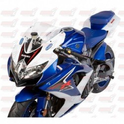 Bulle double courbures HotBodies Racing transparente pour Suzuki GSX-R600/750 (2008-2010)